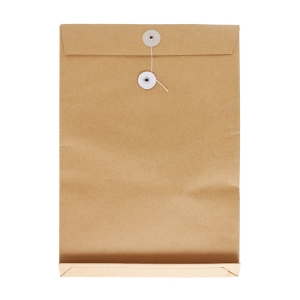 Brown Envelope with String 11 x 15 x 1.5 inch