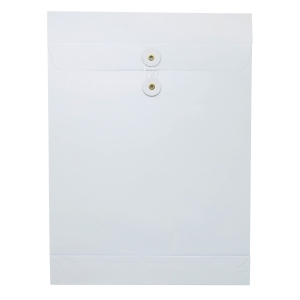 White Envelope with String 10 x 14 x 1.5 inch