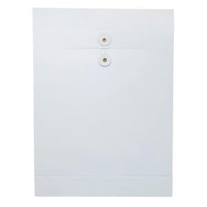 白色風琴式有繩公文袋10 吋 x 14 吋 x 1.5吋