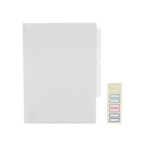 E356 三格膠文件套 A4 透明