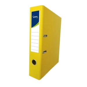 Lyreco 全包膠檔案夾 F4 3吋 黃色