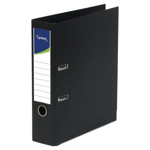 Lyreco PVC Lever Arch File A4 3 inch Black