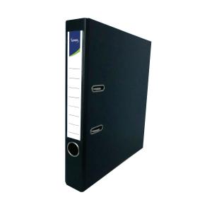 Lyreco PVC Lever Arch File A4 2 inch Black