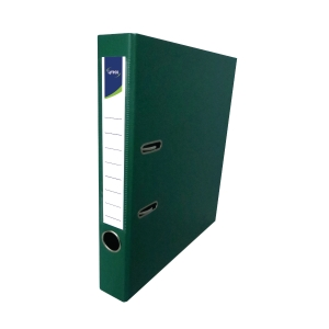 Lyreco PVC Lever Arch File A4 2 inch Green