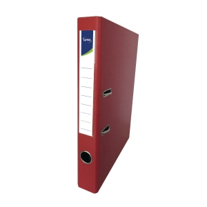 Lyreco PVC Lever Arch File A4 2 inch Red