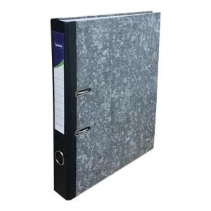Lyreco Marble Leverarch File F4 2 inch