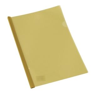 Q骨文件套 A4 黃色