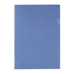 E310 膠文件套 A4 藍色 - 每包12個