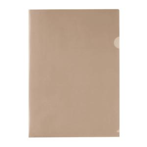 E310 膠文件套 A4 茶色 - 每包12個