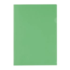 E310 膠文件套 A4 綠色 - 每包12個