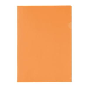 E310 膠文件套 A4 橙色 - 每包12個