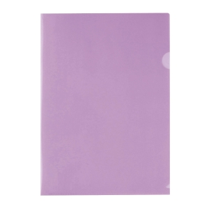E310 膠文件套 A4 紫色 - 每包12個