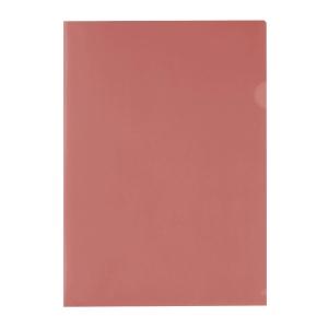 E310 膠文件套 A4 紅色 - 每包12個