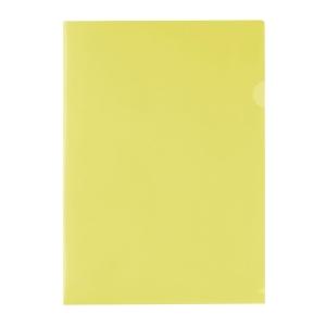 E310 膠文件套 A4 黃色 - 每包12個
