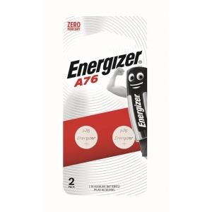Energizer LR44/A76 Alkaline Battery - Pack of 2