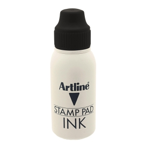 Artline Stamp Pad Refill Ink Black 50ml