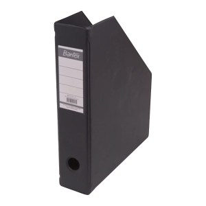 Bantex Foldable Magazine File Black