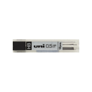 Uni-ball Pencil Leads 0.5mm HB - Tube of 12