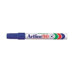 Artline 雅麗 油性箱頭筆 平咀 90 藍色