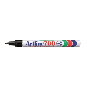 Artline 雅麗 油性箱頭筆 圓咀 700 黑色