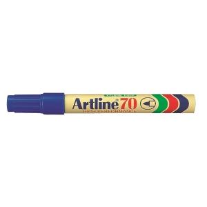 Artline 雅麗 油性箱頭筆 圓咀 70 藍色