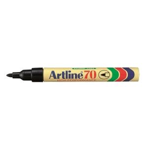 Artline 雅麗 油性箱頭筆 圓咀 70 黑色