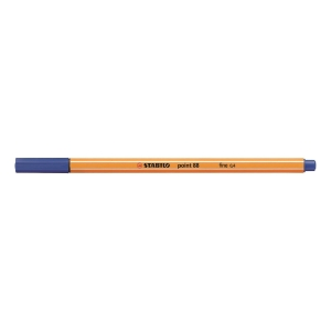 STABILO Point 88 Fineliner Pen 0.4mm Blue