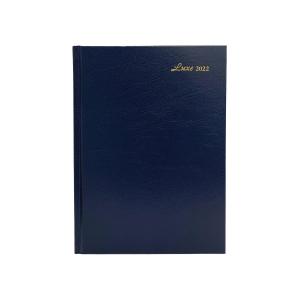 Luxe 57C 日記簿 兩頁一週 A5 藍色