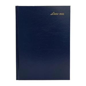 Luxe 41C 日記簿 一頁一日 A4 藍色