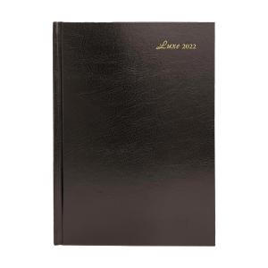 Luxe 41C 日記簿 一頁一日 A4 黑色