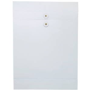 White Envelope with String 12 x 16 x 2 inch