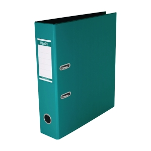 Bantex PVC Lever Arch File A4 3 inch Turquoise