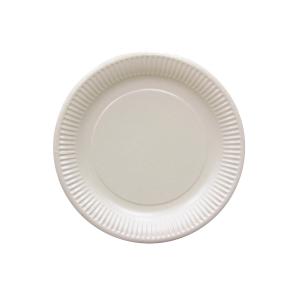 白色紙碟 9吋 - 100隻裝
