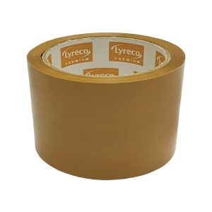 Lyreco Premium OPP Packing Tape 60mm x 45yds Brown