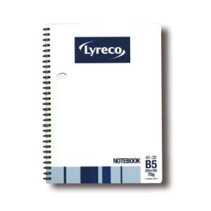 Lyreco Wire Notebook B5 - 80 Sheets