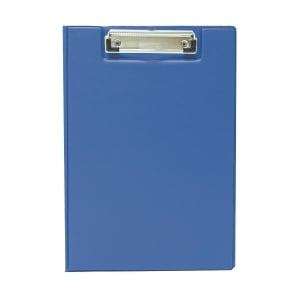 A4 藍色包膠雙板夾