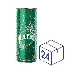 Perrier 法國巴黎 有汽礦泉水330毫升 - 24罐裝