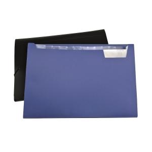 F4 風琴式文件袋 黑色