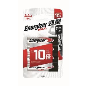 勁量 鹼性電池 AA - 4粒裝