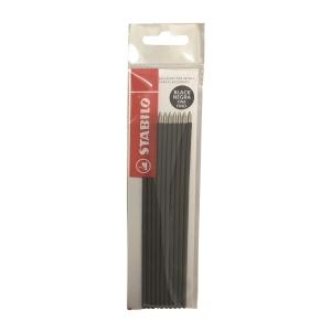 STABILO 補充筆芯 0.3毫米 黑色 - 10支裝