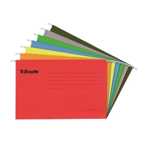 Esselte 易達 PENDAFLEX 吊掛式文件夾 A4 紅色 - 每盒25個