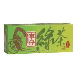 車仔 綠茶茶包 - 25包裝
