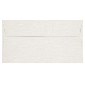 剛古條紋信封白色 110 毫米 x 220 毫米 - 每包20個