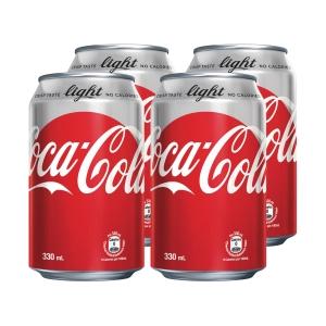 Coca Cola 健怡可樂 330毫升 - 4罐裝
