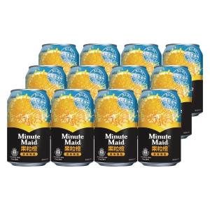 Minute Maid 美粒果 橙汁315毫升 - 12罐裝