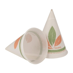 SOLO BARE Conical Pap Cup Roll 4oz - Pack of 200