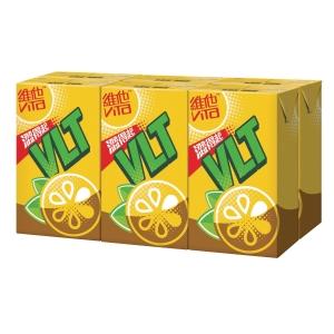 維他檸檬茶250毫升 - 6包裝