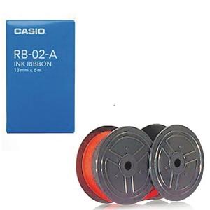 CASIO 卡西歐RB-02計算機色帶 (黑/紅)