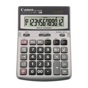 Canon HS-1200RS Desktop Calculator 12 Digits