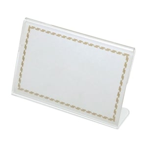 l-shape Card Stand 65 X 100mm